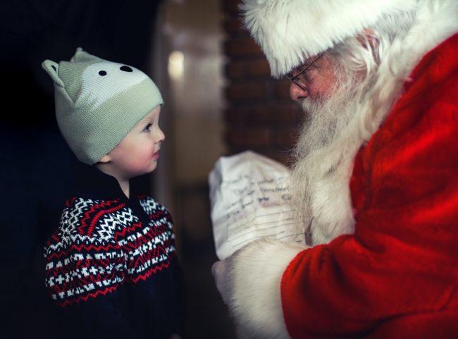 Santa experience for kids